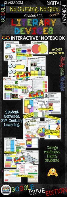 18 more Pins for your Technology board Middle School Writing, Middle School English, Google Drive, Interactive Student Notebooks, 21st Century Classroom, Reading Strategies, Reading Comprehension, Digital Literacy, Teacher Resources