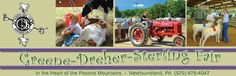 Hurry, it's that time again! Greene Dreher Sterling Fair starts Tomorrow thru Labor day. Come check it out....http://www.gdsfair.com/schedule.html