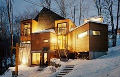 20 Chic Homes Made Out of Shipping Containers | Brit + Co www.brit.co645 × 416Search by image 16. Lego Cabin: Handy for cold climates, not only are shipping container homes easy to put together, but they're also air-tight, waterproof and incredibly energy efficient, thanks to their welded steel construction and