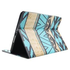 For+iPad+Air/iPad+5+Tribal+Stripes+Smart+Cover+Leather+case+with+Holder,+Card+Slots+&+Wallet
