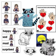 The kissing hand activities and crafts