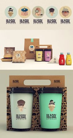 #Packaging #design #identity