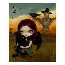 Resultado de imagem para imagens de espantalhos e corvo