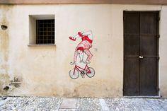 Street Art Graffiti, Palermo, Four Square, Snoopy, Yuri, Wall, Character, Murals, Walls