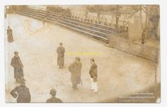 CPA 64 ANGLET carte photo roi angleterre chiquito pelote basque fronton du brun | eBay