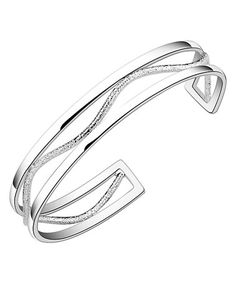 Look what I found on #zulily! Sterling Silver Muse Cuff Bracelet #zulilyfinds