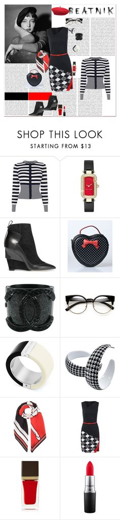 """BACK TO THE FUTURE: THE BEATnik BADNESS-GOING AGAINST THE GRAIN, CREATED A WHOLE NEW STYLE #doYOU #notHER #sheWIILalwaysDOherBETTERthanYOU #GIRLPOWER"" by g-vah-styles ❤ liked on Polyvore featuring Karen Millen, Marc Jacobs, Jimmy Choo, Chanel, ZeroUV, Michael Kors, Givenchy, Tom Ford, MAC Cosmetics and Brixton"