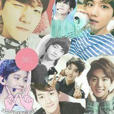 baekhyun, Collage, and byun baekhyun image