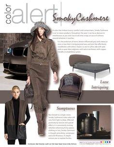 smoky cashmere = brown-influenced grey | #colourtrend #designtrend #2015trend