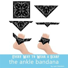 How to wear a bandana biker style ties 50 Ideas How To Wear Bandana, Bandana Outfit, How To Wear Flannels, Ways To Wear A Scarf, How To Wear Scarves, Ideas Bandana, Bandana Styles, Scarf Styles, Hair Styles