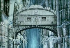 This is a great graphic creation of the Bridge of Sighs. Venice - The Bridge of Sighs – Computer graphic