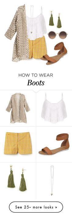"""""""Against the Sun"""" by lawangina on Polyvore featuring Lacoste, Aqua, Givenchy and Linda Farrow"""