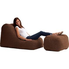 The First And Original Patented Memory Foam Bean Bag Style Chair Fuf Will Not Break Down Like Old Bags
