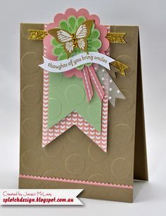 Splotch Design - Jacquii McLeay Independent Stampin' Up! Demonstrator: Casing the SU Catalogue