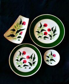 Vintage Scottish Thistle Stangl Pottery