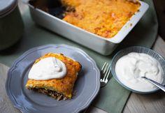 Sajtos rakott kelkáposzta Mashed Potatoes, Macaroni And Cheese, French Toast, Muffin, Breakfast, Ethnic Recipes, Nap, Minden, Food