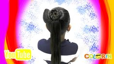 Colorin TV Girl Hairstyles, Braided Hairstyles, Bow Braid, Hair Cuts, Hair Styles, Movie Posters, Youtube, Flower, Model