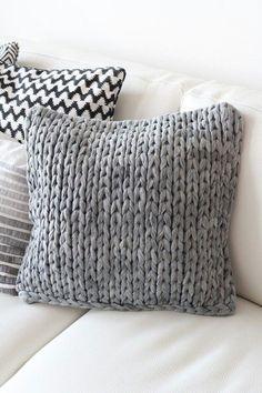 Cojines de lana y telas otoño-invierno