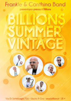 Billions Summer Vintage con Frankie & Canthina Band