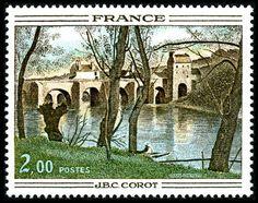 Jean-Baptiste Corot - Le Pont de Mantes
