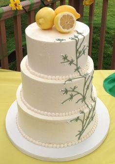 lemon wedding cake - Google Search