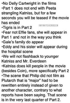 Wanna know what happens in part 1 and 2 of mockingjay?? keep reading