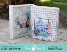 Alexes Brown for Fancy Pants Designs - Paper Quiet Book