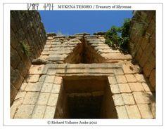 #Mycenae #archeaology #TreasuryofAtreus #treasury Click to ENLARGE