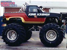 Little King Krunch 4x4 Trucks, Custom Trucks, Lifted Trucks, Cool Trucks, Chevy Trucks, Big Monster Trucks, Monster Jam, Truck Pulls, Vehicles
