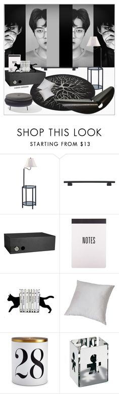 """""""A Lucky One,A Monster"""" by rainie-minnie ❤ liked on Polyvore featuring interior, interiors, interior design, home, home decor, interior decorating, Atlas Homewares, Barska, L'Objet and Alessi"""