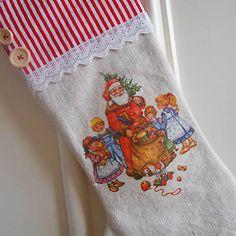 tinuszDecorArt / Vianočná čižma
