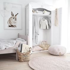 All white nursery