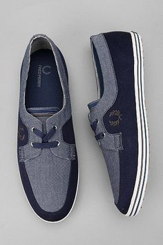 Fred Perry Dury Chambray Boat Shoe