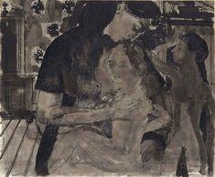 Paul Delvaux - Maternité (1963)