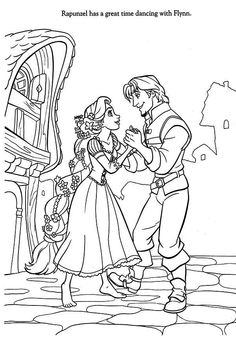 printable free colouring pages disney princess rapunzel