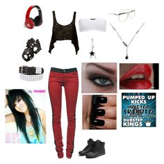 """""""The Dubstep Dancer c:"""" by just-a-breakable-thread ❤ liked on Polyvore"""