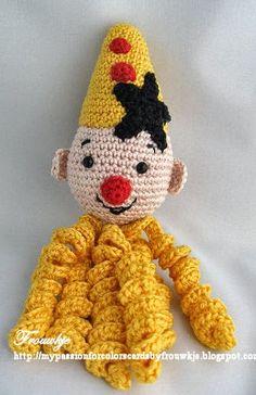 21 Beste Afbeeldingen Van Bumba Clowns Amigurumi En Amigurumi