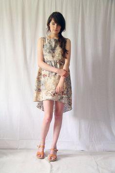 The Louise Drop Hem Dress ($118.00) - Svpply
