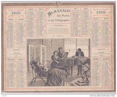 calendrier 1910