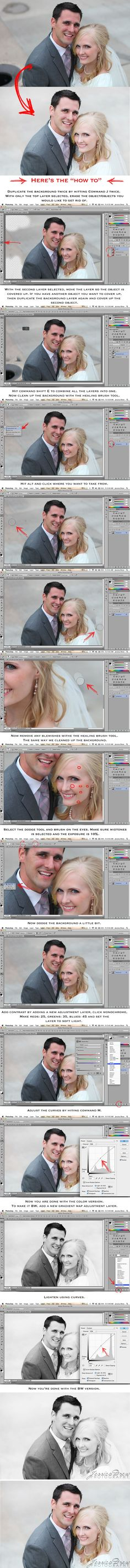Remove objects from the background of your photo in CS6