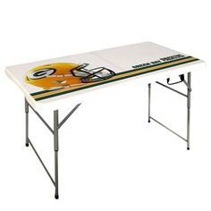 NFL Packers 4' Bifold Table