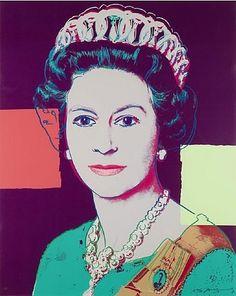 Andy Warhol, Reigning Queens Portfolio (Royal Edition): Queen Elizabeth II of the United Kingdom