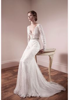 Lihi Od lace wedding dress  | onefabday.com