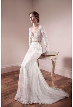 Lihi Od lace wedding dress  | onefabday.com