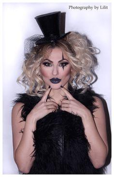 Circus Ringleader Photoshoot: Tatev - Make Up by Lilit More