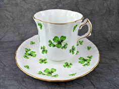 Vintage Porcelain Bone China Tea Cup and by VintageDutchgirl62