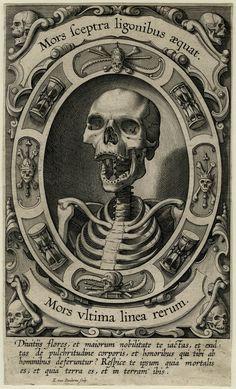 Servitus Carnis, 1610/20 (Engraving) ~ by Egbert van Panderen