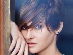 Short Cut Hairstyles with Bangs