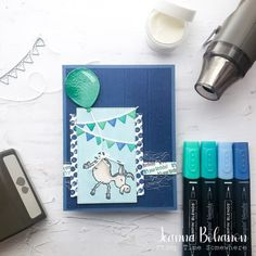 Facebook Business, Facebook Sign Up, My Son Birthday, Birthday Cards, Birthday Sentiments, Wink Of Stella, Chalk Markers, Cool Sketches, Animal Cards