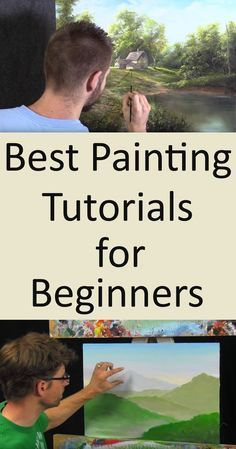 7 Acrylic Painting Tips For Beginners Simple Oil Painting, Acrylic Painting For Beginners, Acrylic Painting Techniques, Beginner Painting, Watercolour Painting, Art Techniques, Watercolours, Watercolour Techniques, Painting Trees